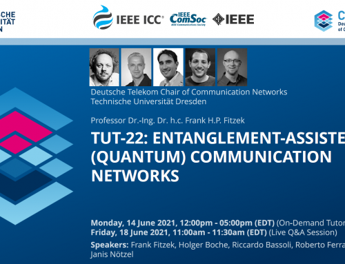 Entanglement-assisted (Quantum) Communication Networks