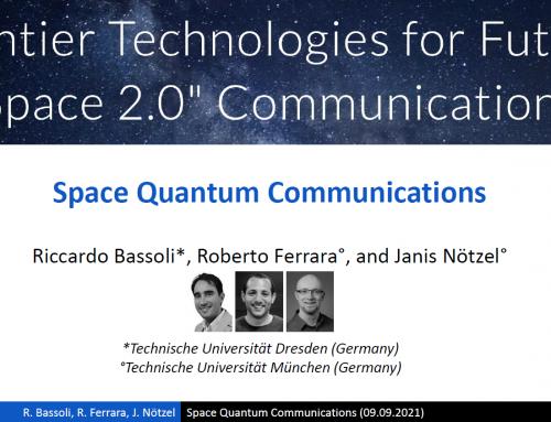 Space Quantum Communications